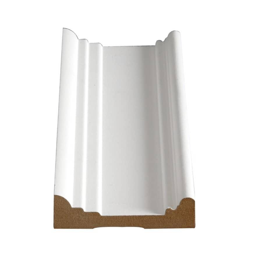 "ALEXANDRIA MOULDING:1"" x 3-5/8"" Medium Density Fibreboard Primed Ultra Light Architrave Moulding, by Linear Foot"
