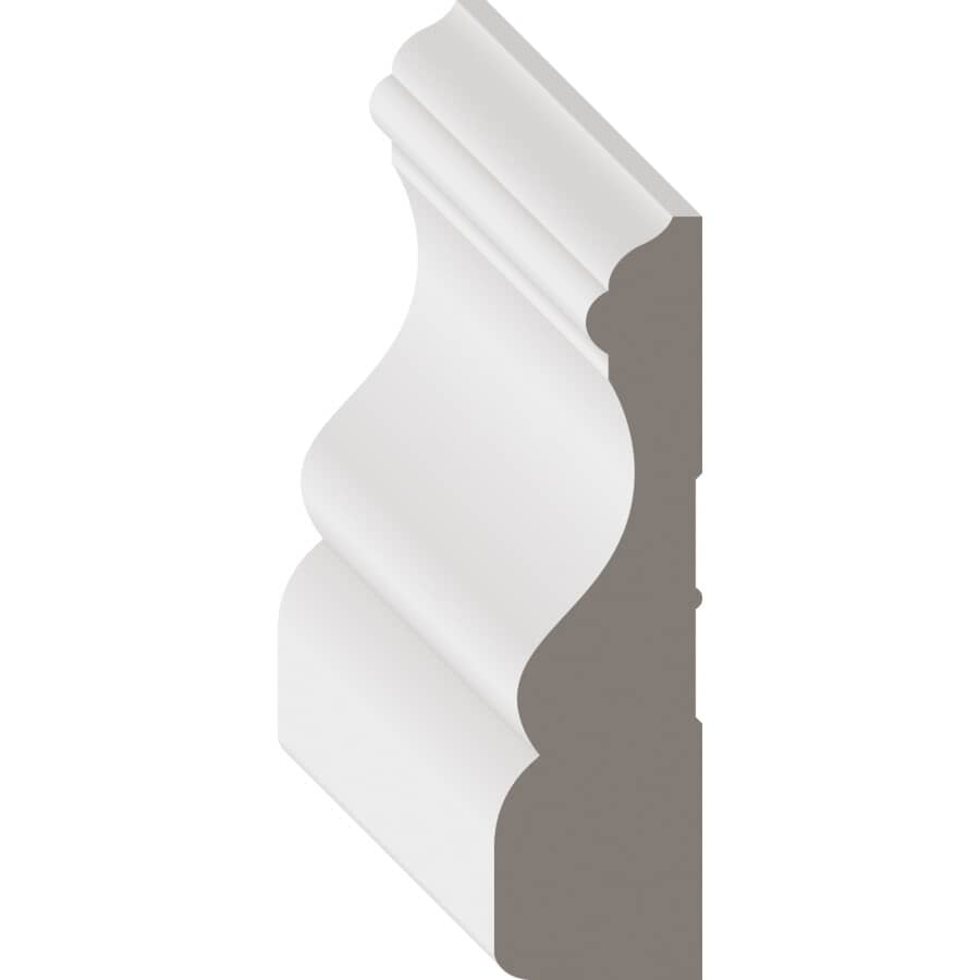 """METRIE:3/4"""" x 2-3/4"""" x 102"""" Colonial  Primed Finger Jointed Poplar Casing"""