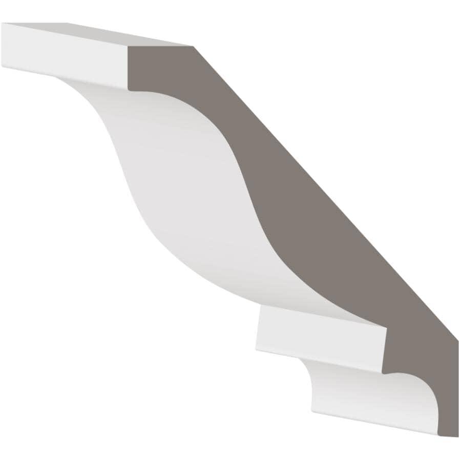 "METRIE:1"" x 6-15/16"" Medium Density Fibreboard Primed Crown Moulding, by Linear Foot"