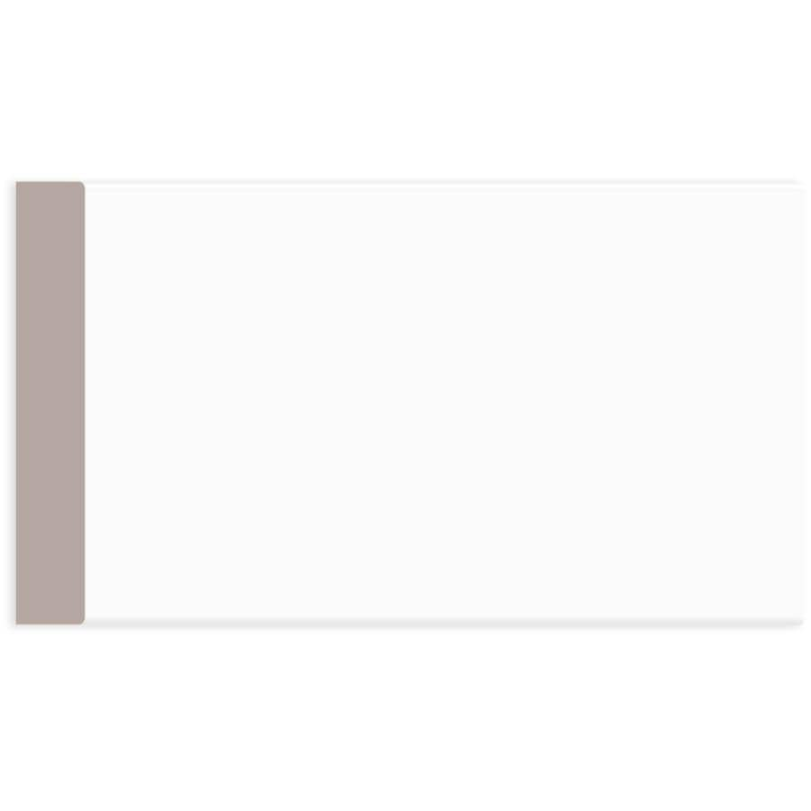 """ALEXANDRIA MOULDING:3/4"""" x 3-1/2"""" Medium Density Fibreboard Primed Surfaced Four Sides Eased Two Edges Moulding, by Linear Foot"""
