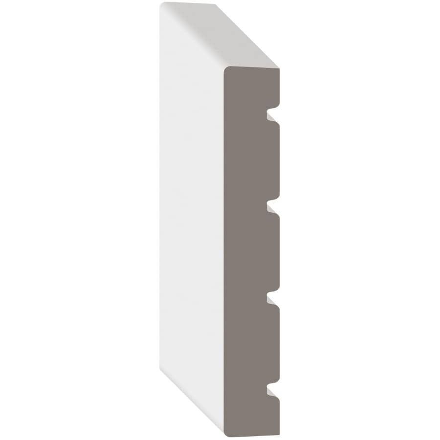 "METRIE:5/8"" x 4-9/16"" x 7' Medium Density Fibreboard Pre-Painted Jamb Moulding"