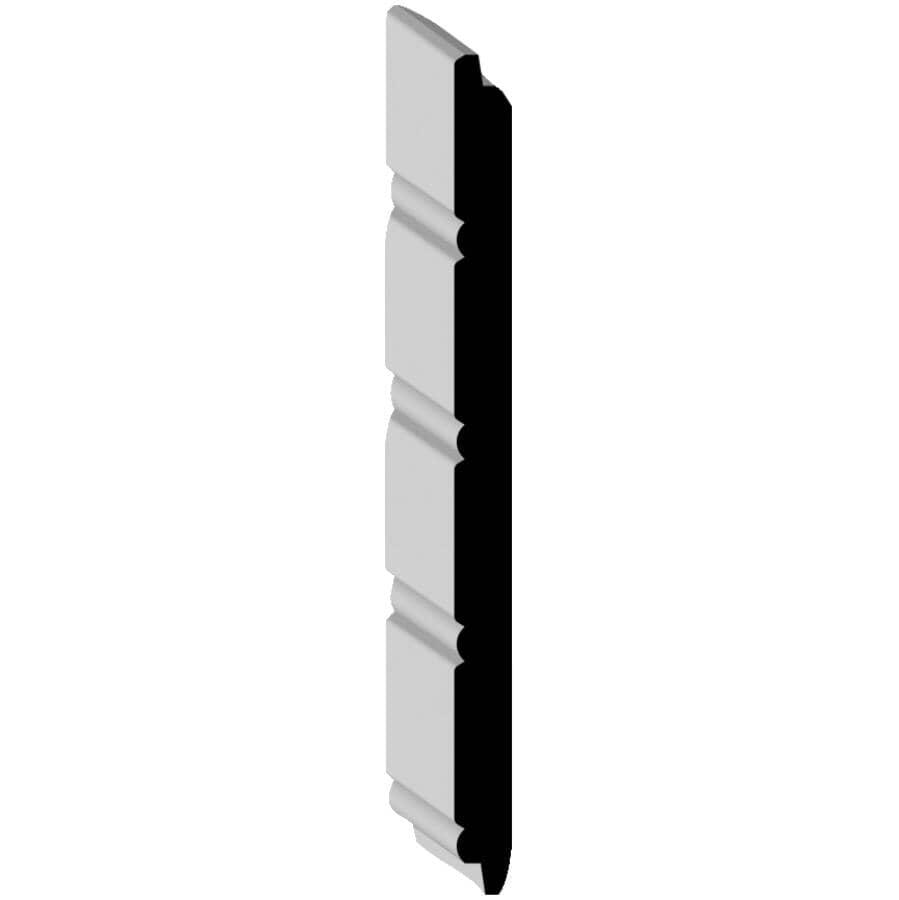 """ALEXANDRIA MOULDING:3/8"""" x 5-15/16"""" x 8' Medium Density Fibreboard Primed Wainscot Plank"""