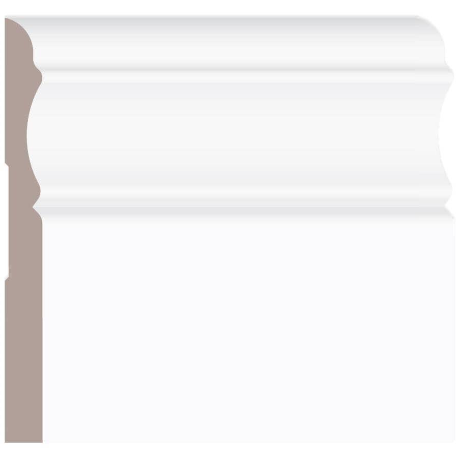 "ALEXANDRIA MOULDING:5/16"" x 3-1/8"" x 8' Pine Colonial Baseboard Moulding"