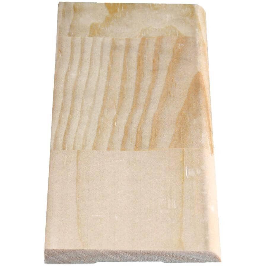 "ALEXANDRIA MOULDING:5/16"" x 3-1/8"" x 8' Finger Jointed Pine Bevelled Baseboard Moulding"
