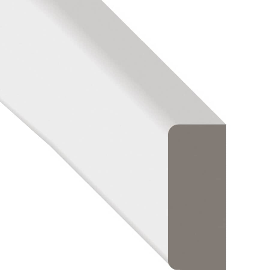 """METRIE:5/16"""" x 7/8"""" x 7' Finger Jointed Pine Primed Colonial Stop Moulding"""