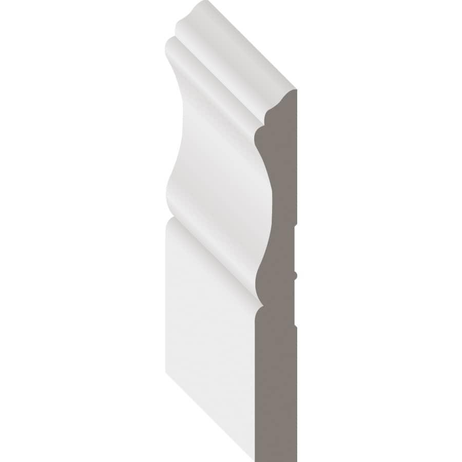 """METRIE:1/2"""" x 3-1/4"""" Hemlock Baseboard Moulding, by Linear Foot"""
