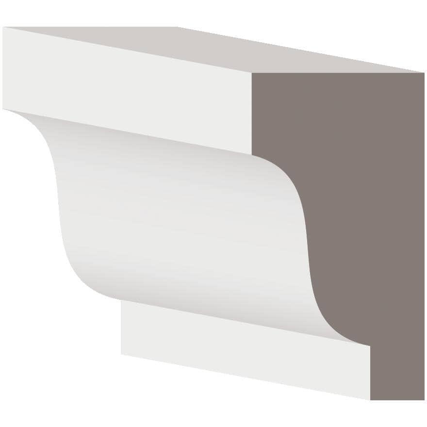 "METRIE:1-3/16"" x 2-1/4"" Hemlock Crown Moulding, by Linear Foot"