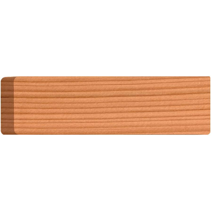 """ALEXANDRIA MOULDING:1"""" x 3-1/2"""" Fir Sanded Four Sides and Eased Four Edges Moulding, by Linear Foot"""