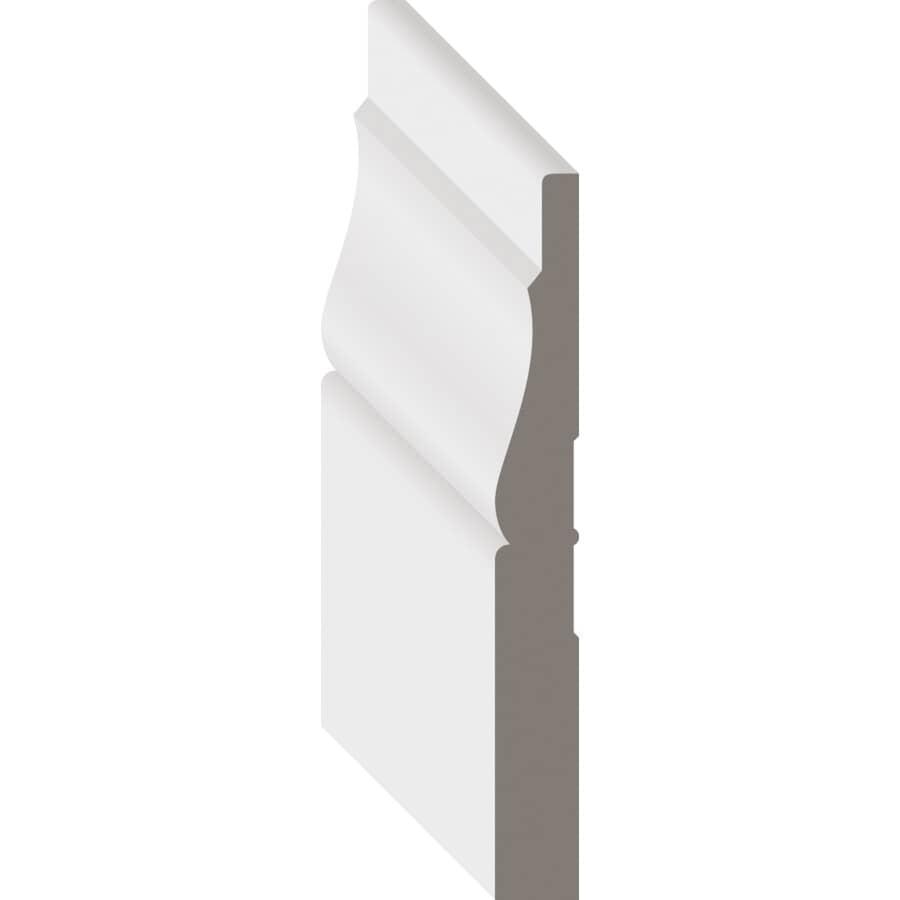 """METRIE:5/16"""" x 3-3/16"""" Maple Colonial Baseboard Moulding, by Linear Foot"""