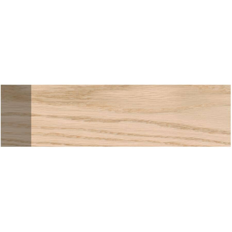 """ALEXANDRIA MOULDING:3/4"""" x 1-1/2"""" Oak Dressed Four Sides Moulding, by Linear Foot"""