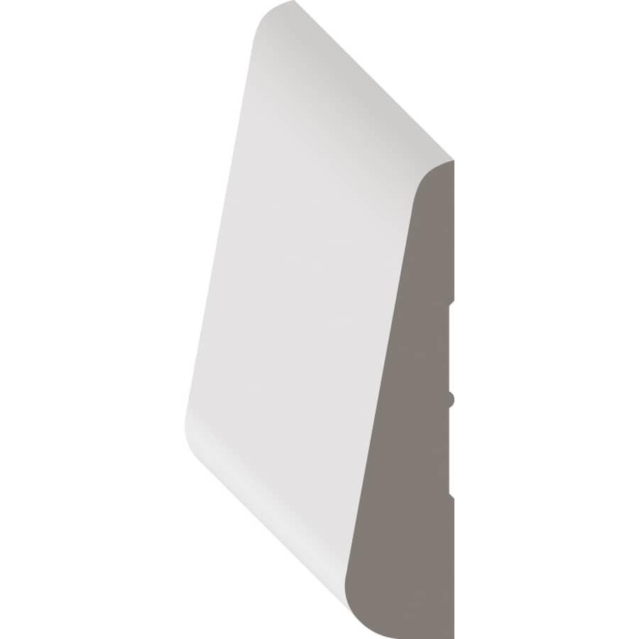 """METRIE:3/8"""" x 2-1/4"""" Pre-Finished Marquis Oak Baseboard Moulding, by Linear Foot"""