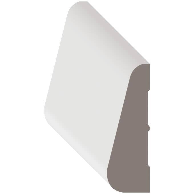 """METRIE:7/16"""" x 1-1/2"""" x 7' Pre-Finished White Casing Moulding"""