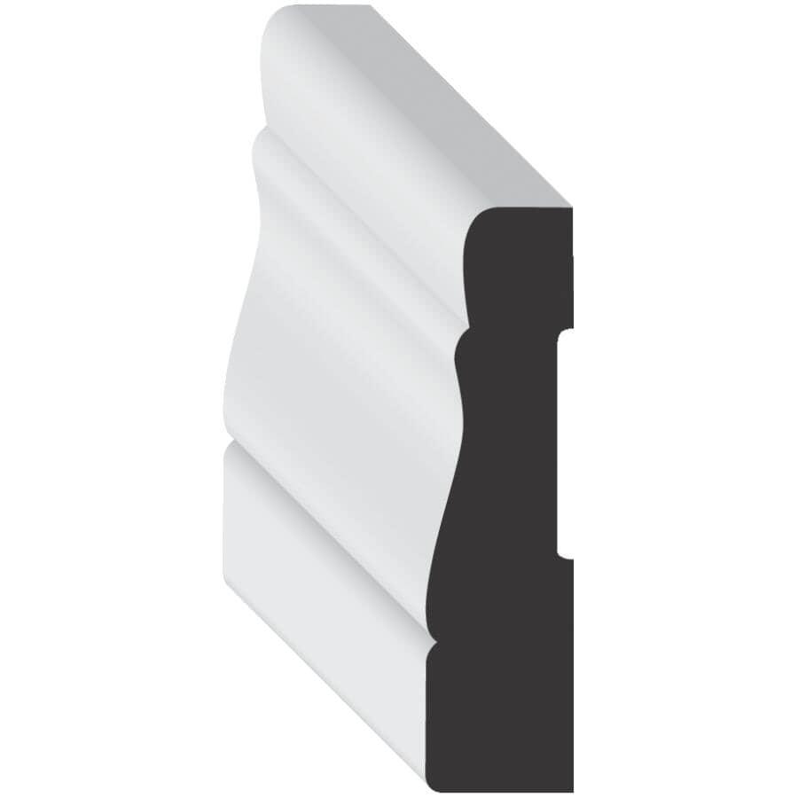 "METRIE:7/16"" x 2-1/4"" Medium Density Fibreboard Primed Colonial Casing Moulding, by Linear Foot"