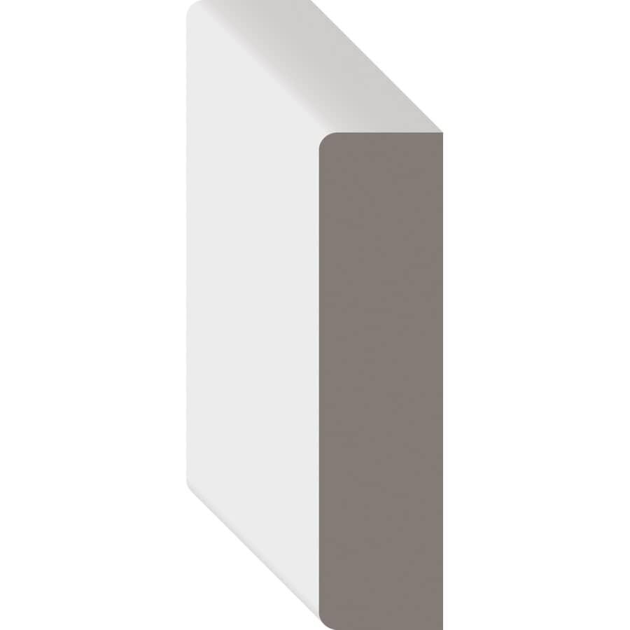 """METRIE:1"""" x 4"""" Medium Density Fibreboard Primed Casing Moulding, by Linear Foot"""