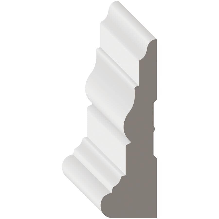 "METRIE:1-1/8"" x 3-1/2"" x 8' Medium Density Fibreboard Primed Colonial Casing Moulding"