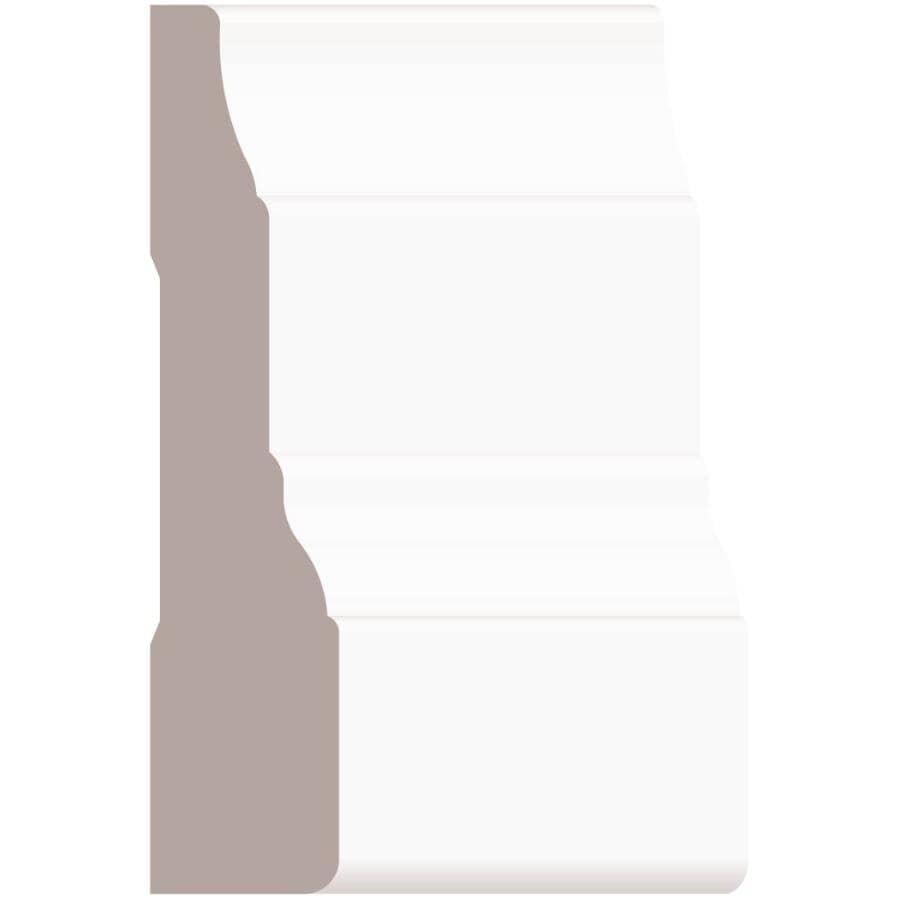 "ALEXANDRIA MOULDING:5/8"" x 2-3/4"" Medium Density Fibreboard Primed Casing Step Moulding - by Linear Foot"