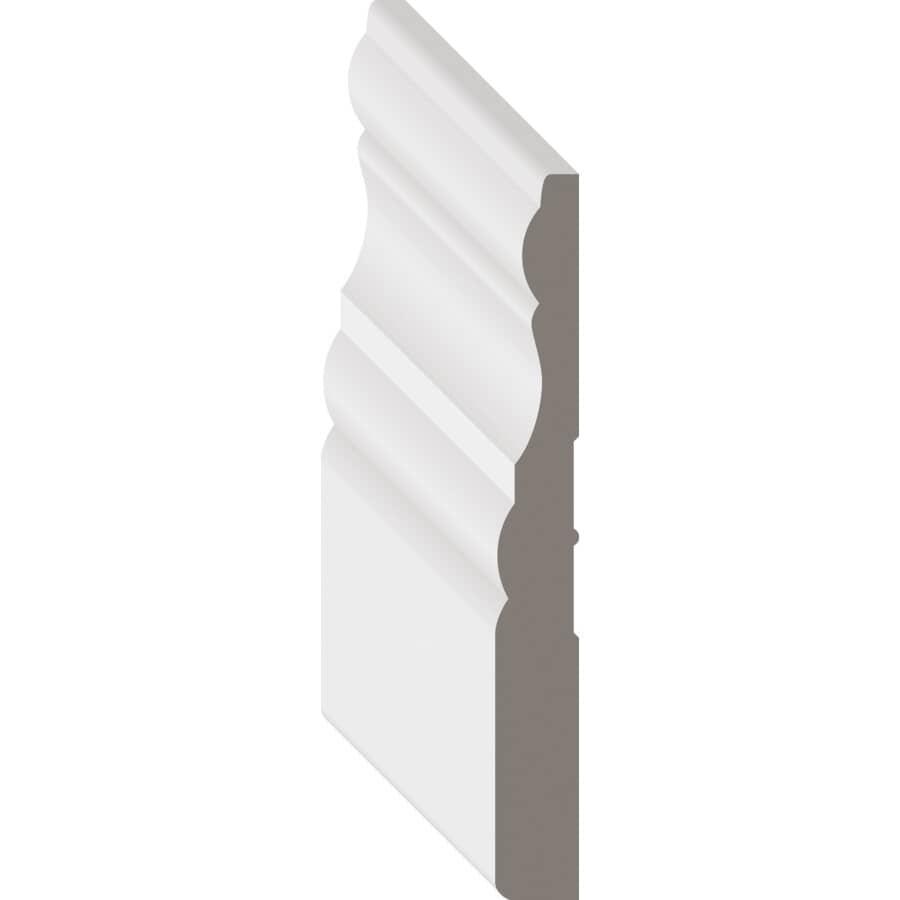 """METRIE:3/8"""" x 3-1/4"""" Medium Density Fibreboard Primed Casing Moulding, by Linear Foot"""