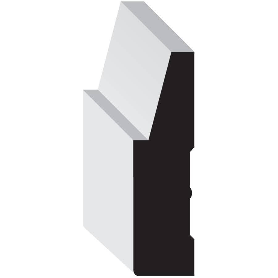 "METRIE:3/4"" x 2-3/4"" x 7' Medium Density Fibreboard Primed Casing Step Moulding"