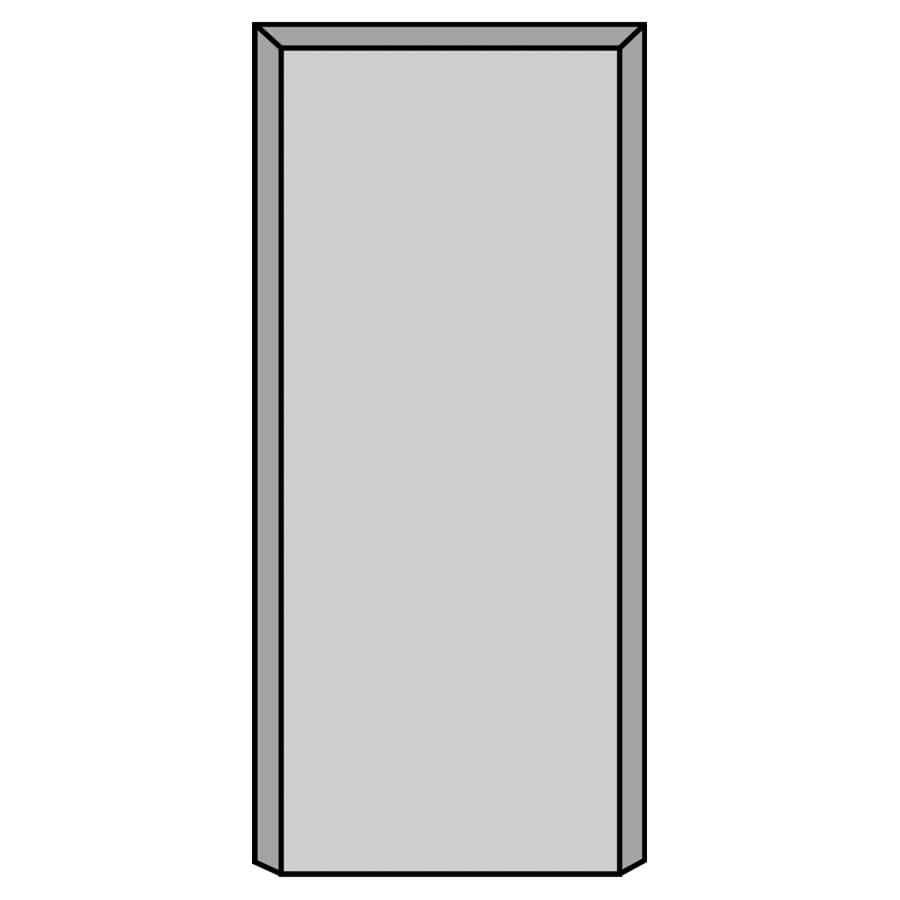 "ALEXANDRIA MOULDING:1"" x 4-1/8"" x 9"" Medium Density Fibreboard Pine Primed Plinth Block Moulding"