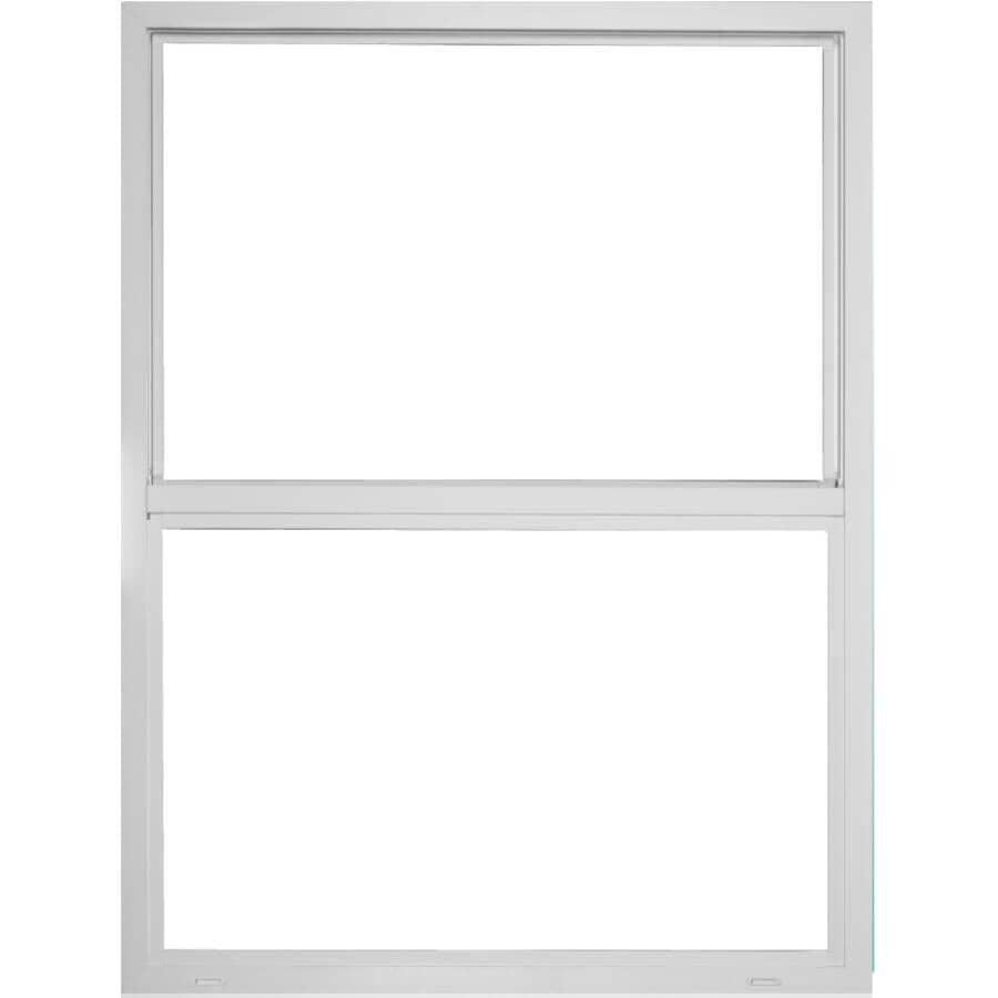 ALL WEATHER WINDOWS:Fenêtre à guillotine simple Metro en vinyle de 24 po x 48 po