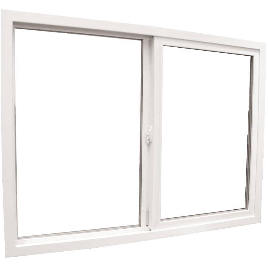 "ALL WEATHER WINDOWS:30"" x 30"" Metro Poly Vinyl Slider Window, with 2-1/8"" Jamb"