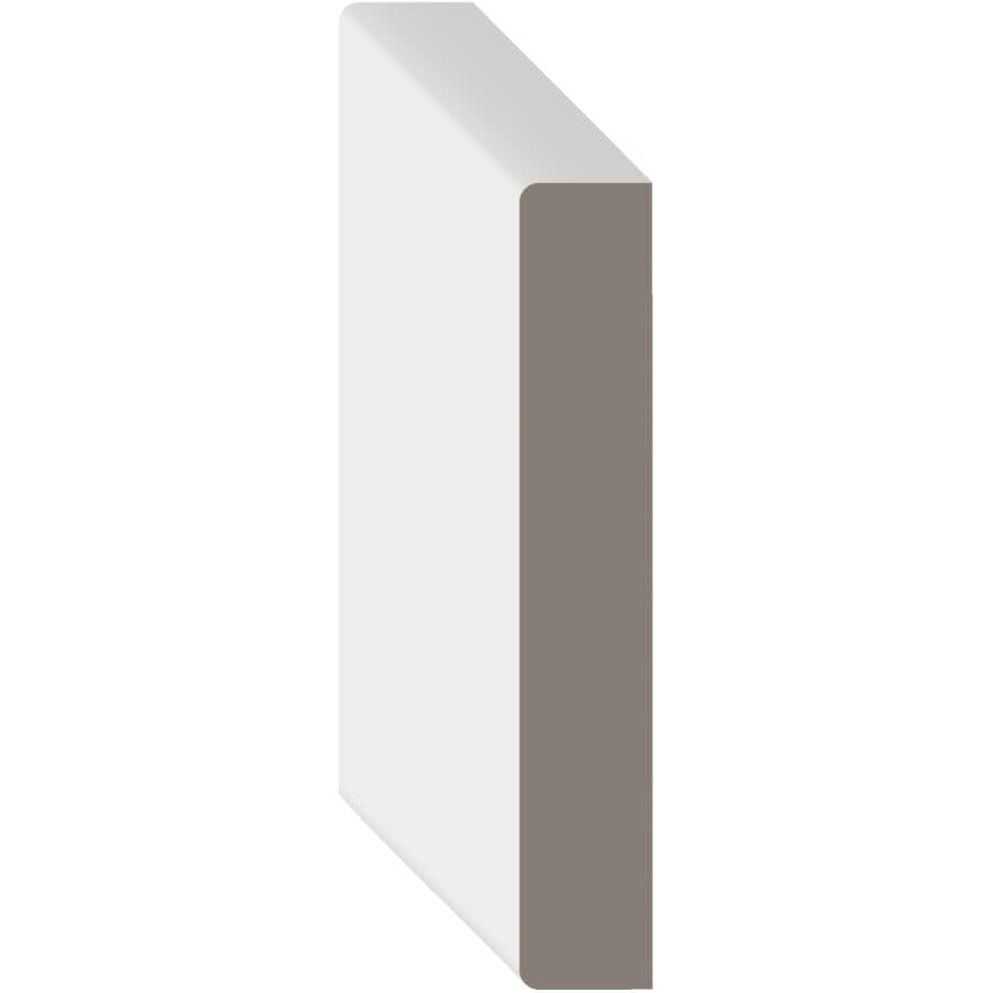 "METRIE:9/16"" x 5-1/2"" x 8' Medium Density Fibreboard Primed Surfaced Four Sides Moulding"