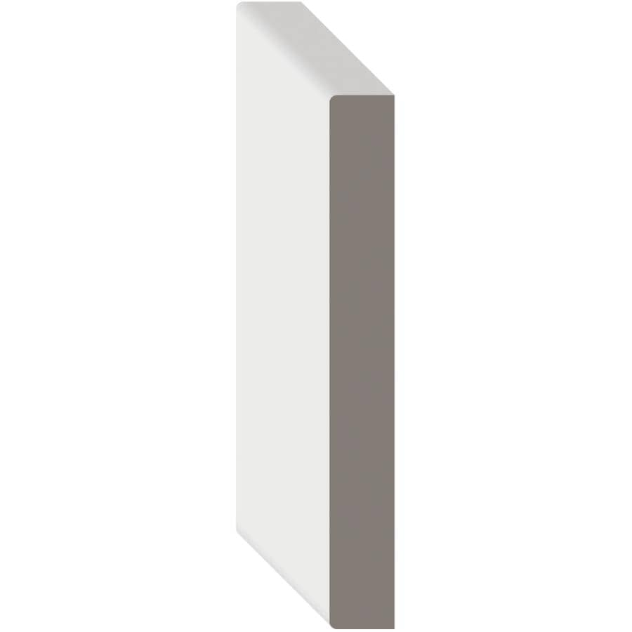 """METRIE:9/16"""" x 5-1/2"""" Medium Density Fibreboard Primed Surfaced Four Sides Moulding, by Linear Foot"""
