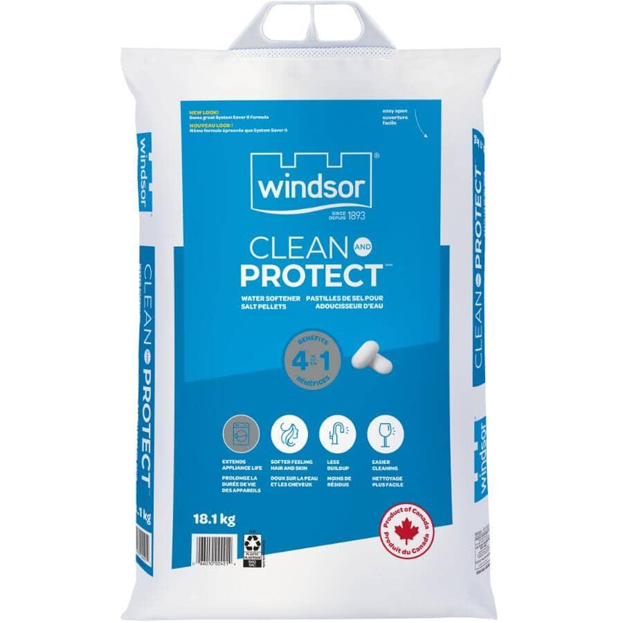 WINDSOR SALT:Clean & Protect Water Softener Salt - 18.1 kg