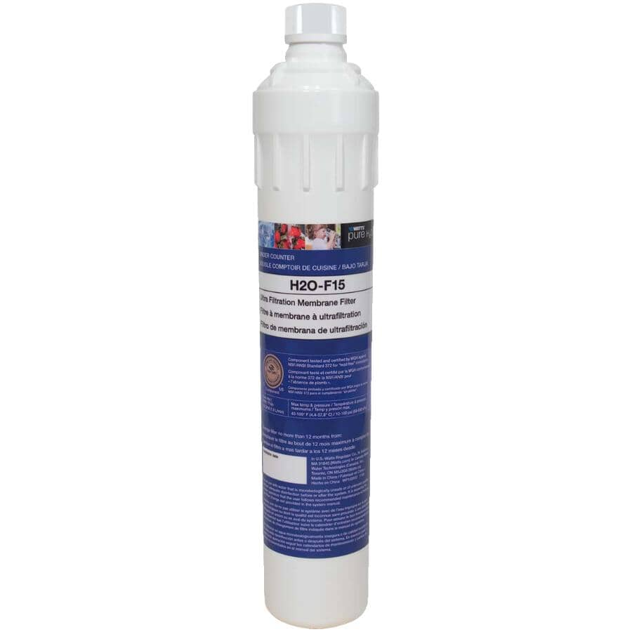 WATTS PURE H2O:Replacement UF Membrane Filter for Pure H20 Systems