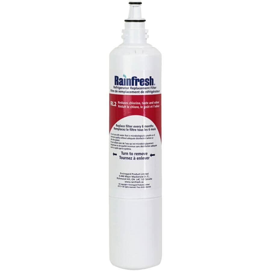 RAINFRESH:Refrigerator Water Filter Refill - LG Models