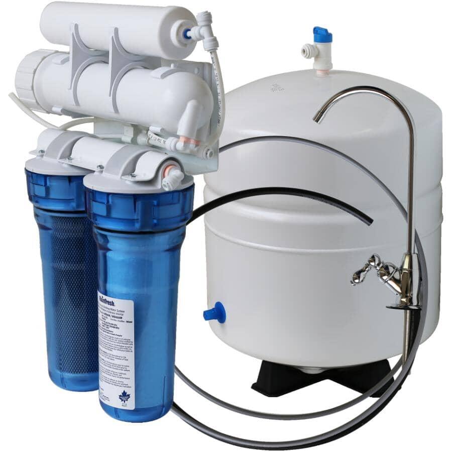 RAINFRESH:50 Gallon Per Day Reverse Osmosis Drinking Water System