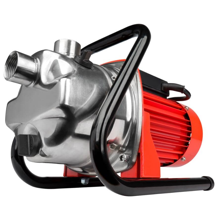 RED LION:3/4 Horse Power Stainless Steel Sprinkler Utility Pump