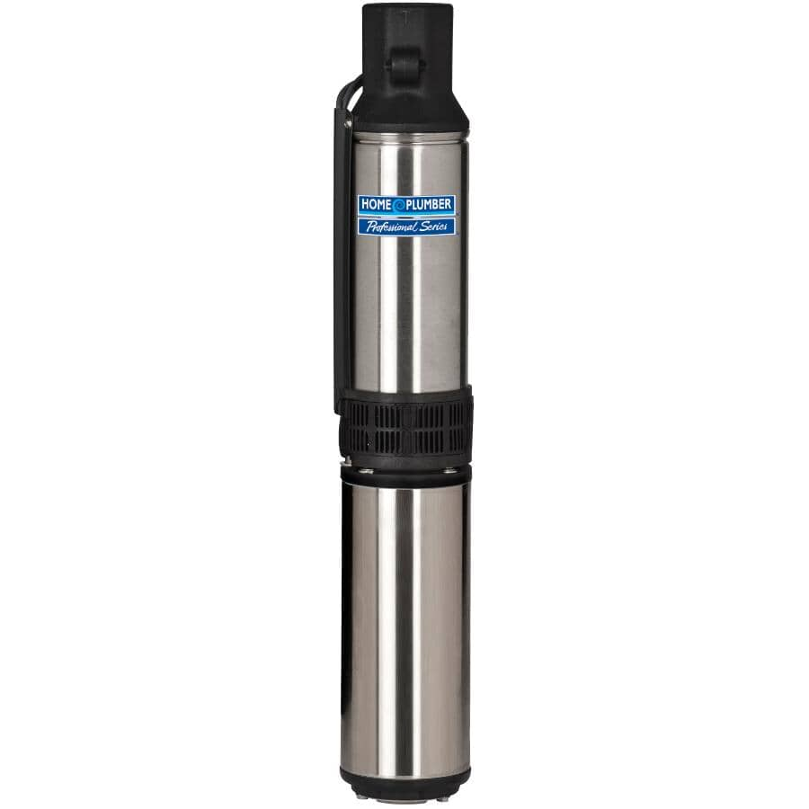 HOME PLUMBER:1/2 Horse Power 230 Volt 2 Wire 12 Gallon Submersible Pump