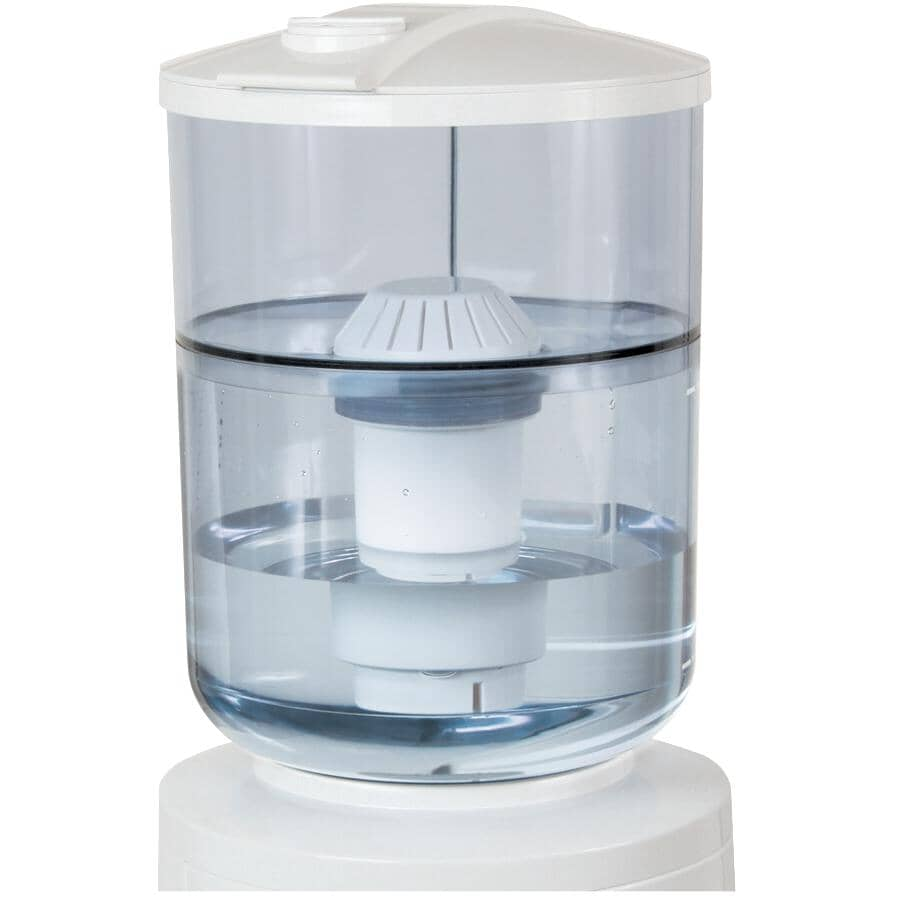VITAPUR:7L Water Cooler Bottle, with Filter