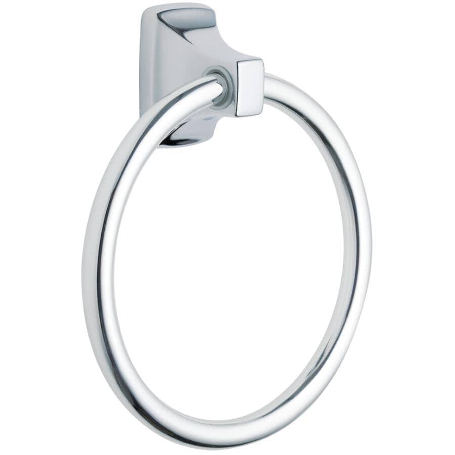 MOEN:Contemporary Chrome Towel Ring