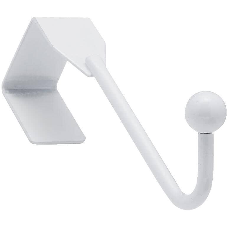 RICHELIEU:White Over The Door Single Hook