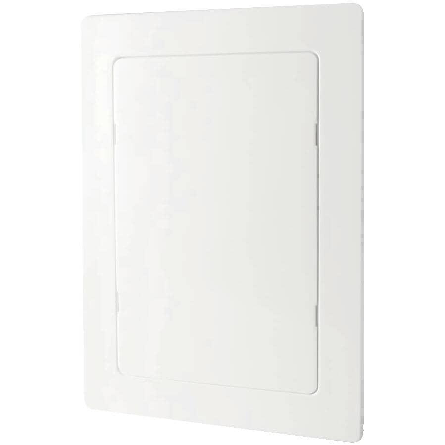 "WATTS INDUSTRIES:6"" x 9"" White Plastic Access Panel"
