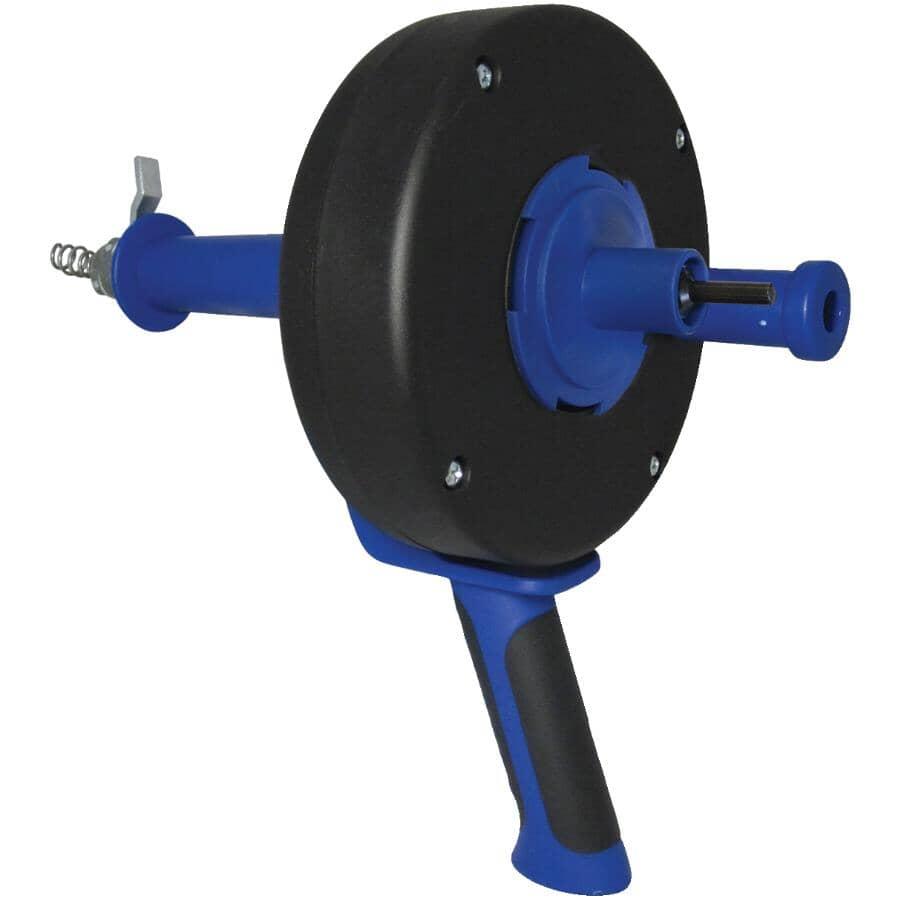 "COBRA:1/4"" Diameter x 25' Power Drum Drain Auger"