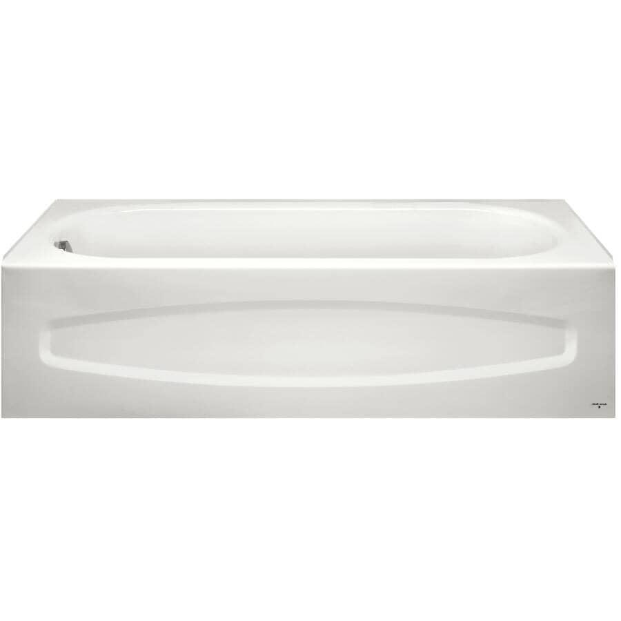 AMERICAN STANDARD:5' Colony Warm White Left Hand Bath Tub