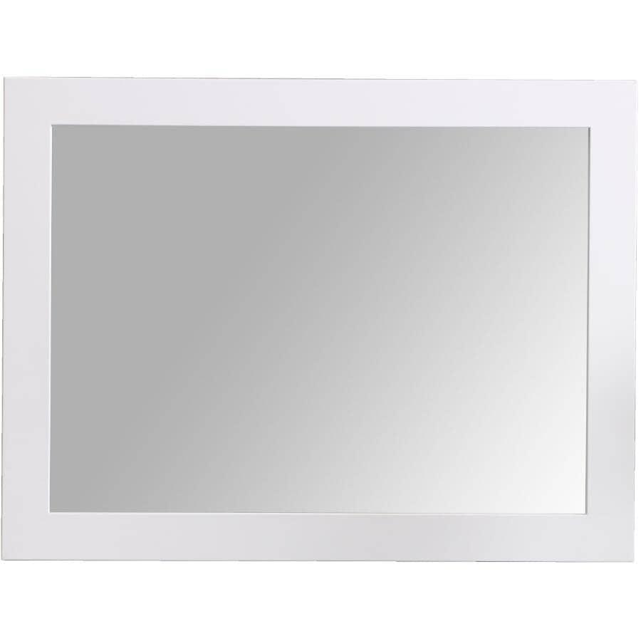 """CUTLER KITCHEN & BATH:Shaker Style Framed Rectangular Mirror - White, 23"""" x 30"""""""