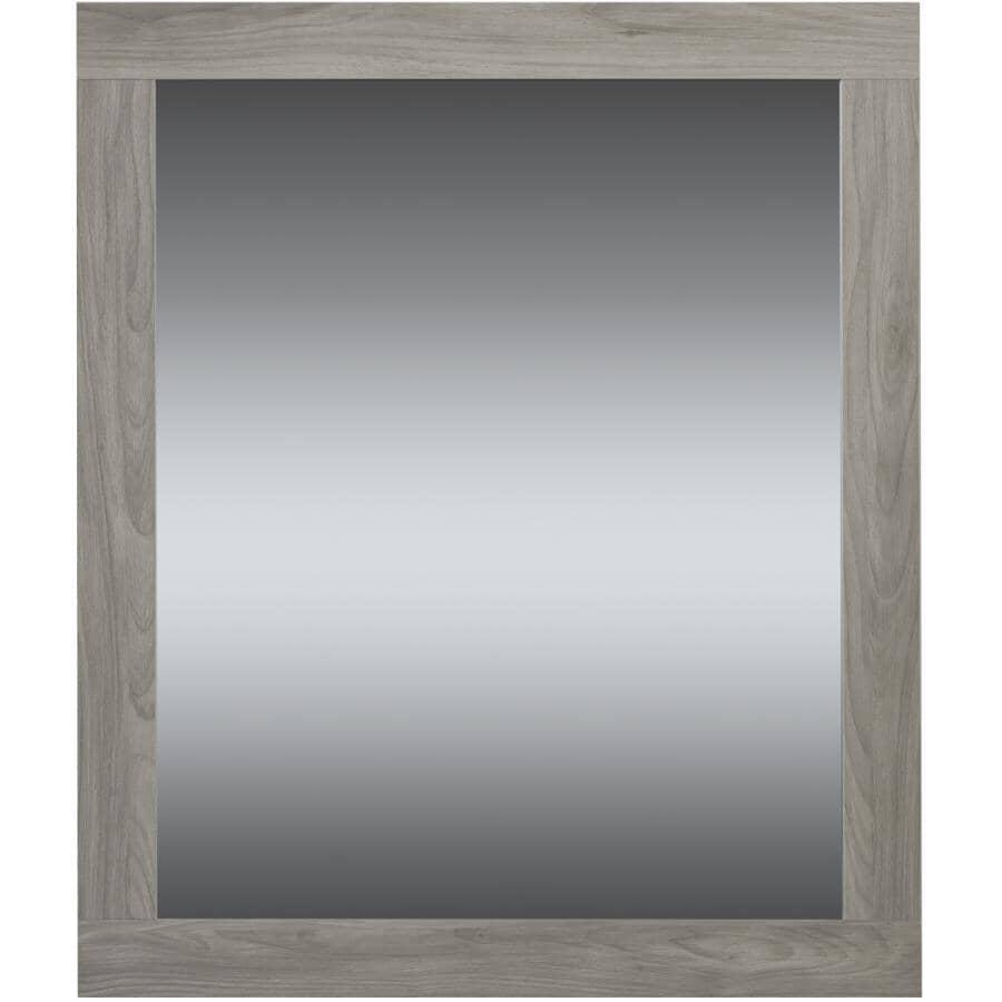 "LUXO MARBRE:Relax Framed Rectangular Mirror - Pale Grey, 36"" x 30"""