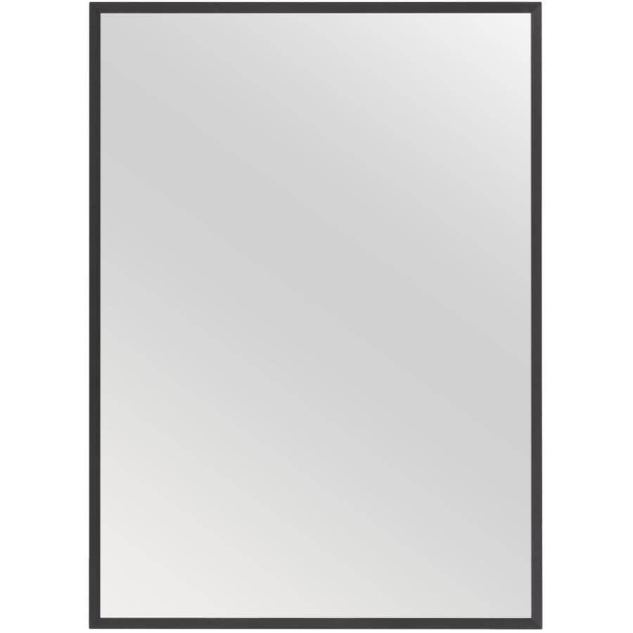 "RENIN:Dobson Framed Rectangular Mirror - Matte Black, 26"" x 36"""