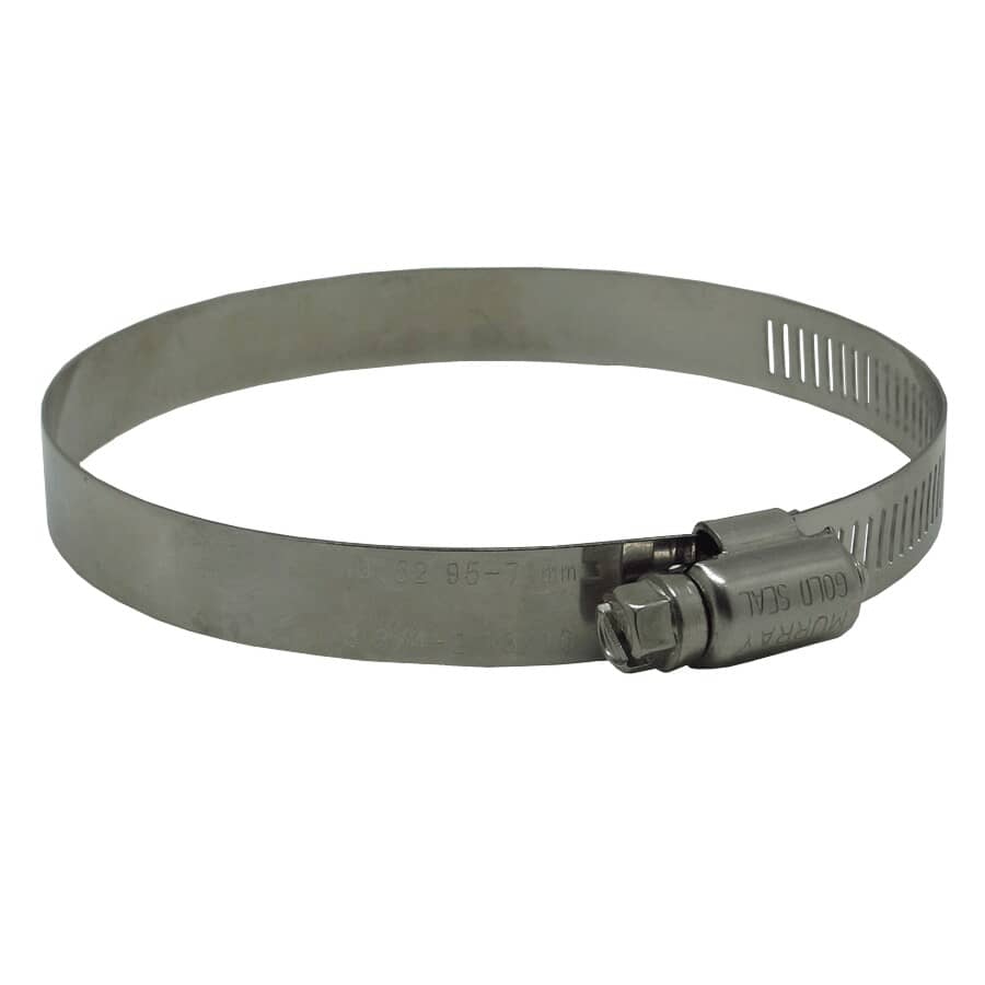 """MURRAY CORPORATION:#52 3-1/2"""" All Stainless Steel Hose Clamp"""
