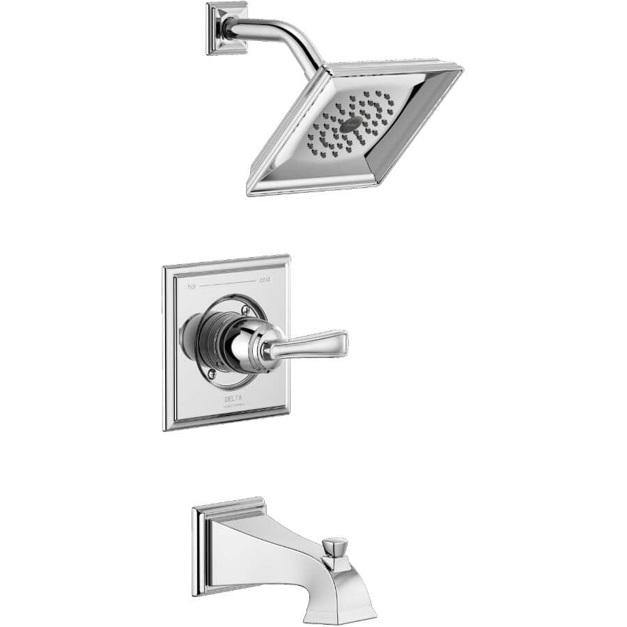 DELTA FAUCET:Lakewood Single Handle Tub and Shower Faucet - Chrome