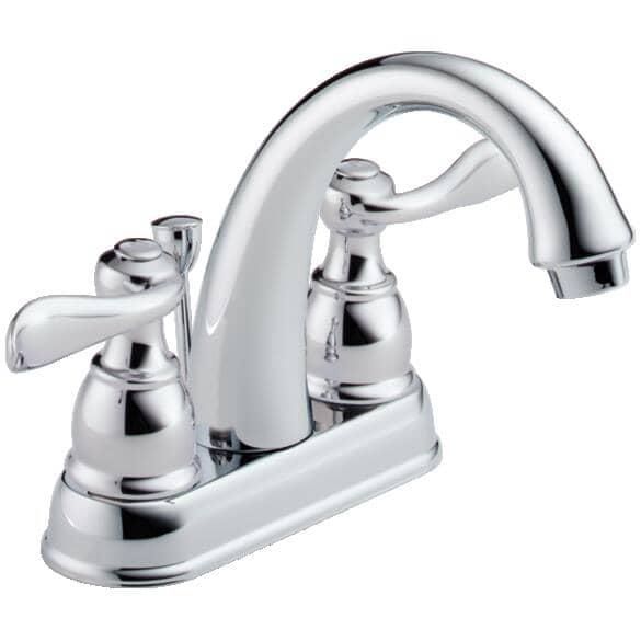 DELTA FAUCET:Windemere 2 Handle Lavatory Faucet - Chrome