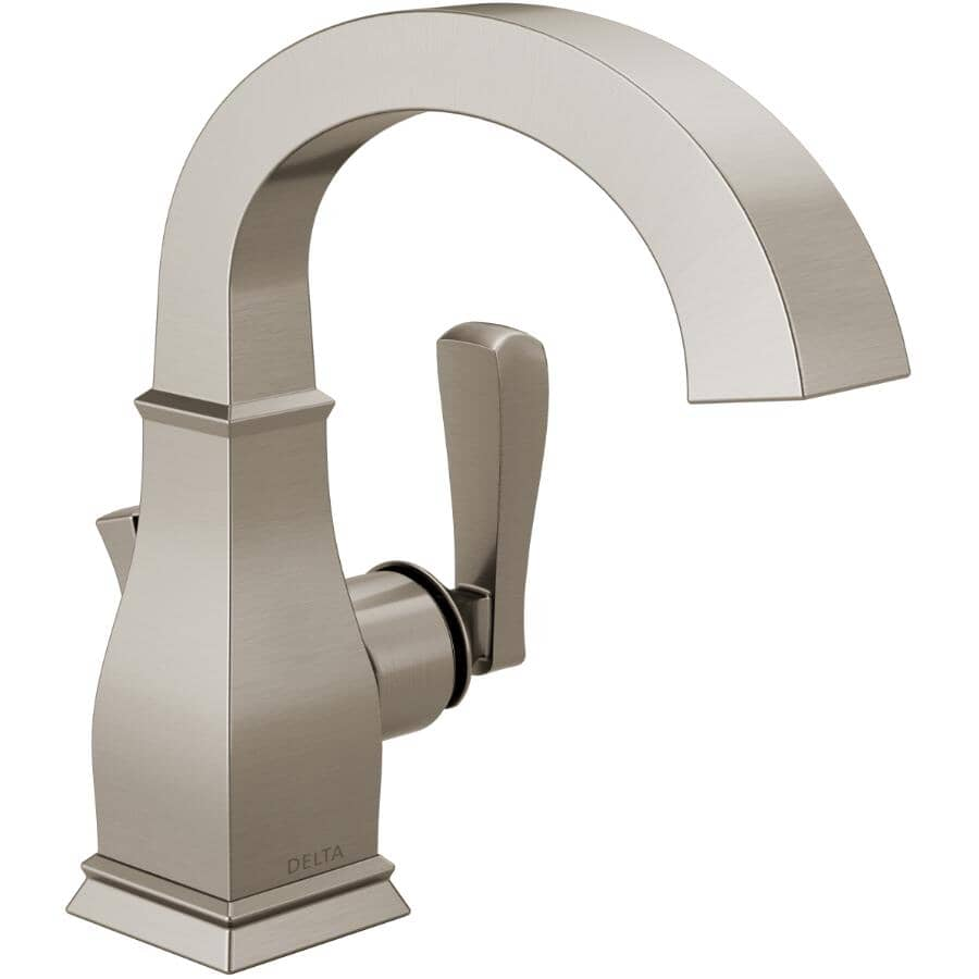 DELTA FAUCET:Lakewood One Handle Lavatory Faucet - Brushed Nickel