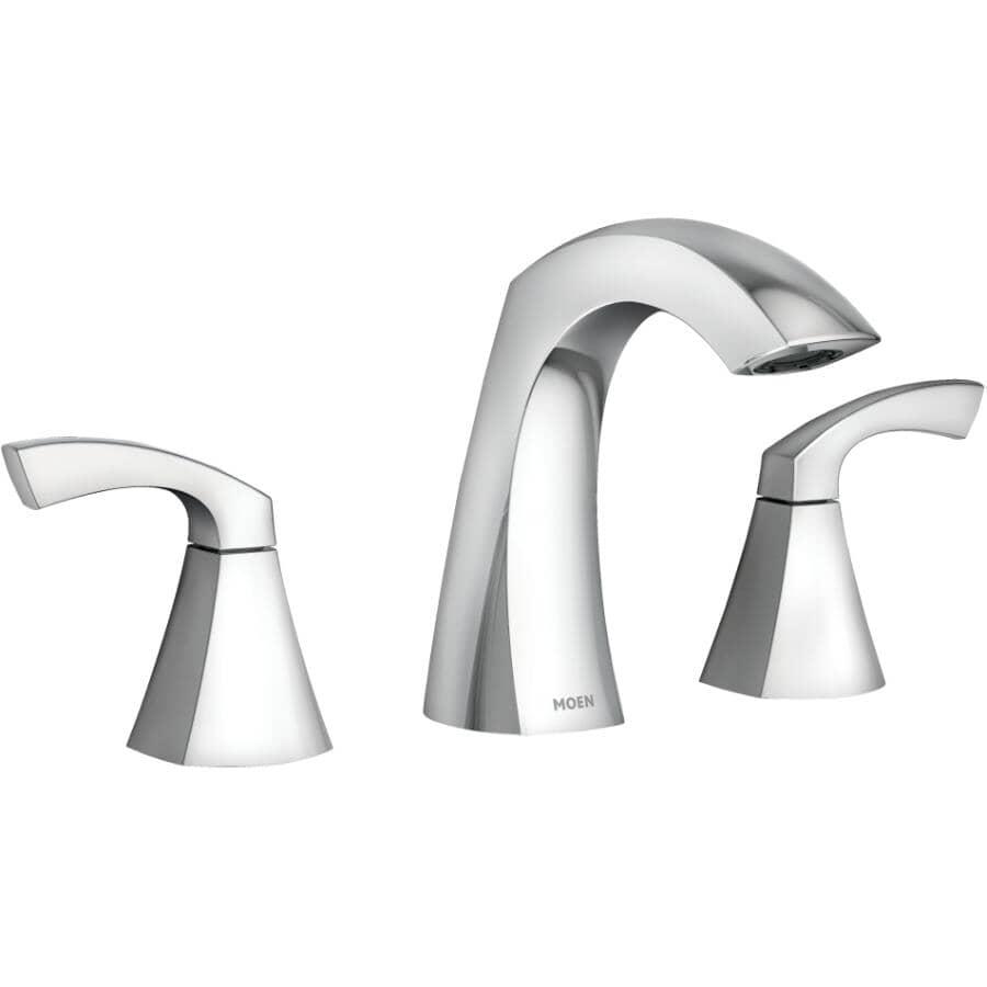 MOEN:Lindor Widespread Two Handle Lavatory Faucet - Chrome
