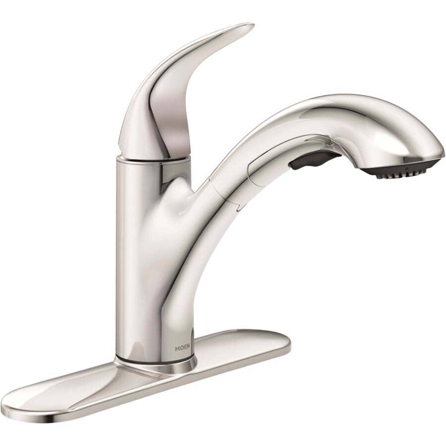 MOEN:Medina Chrome Pullout Kitchen Faucet