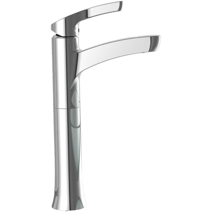 MOEN:Danika Chrome Lavatory Faucet for Vessel Sink