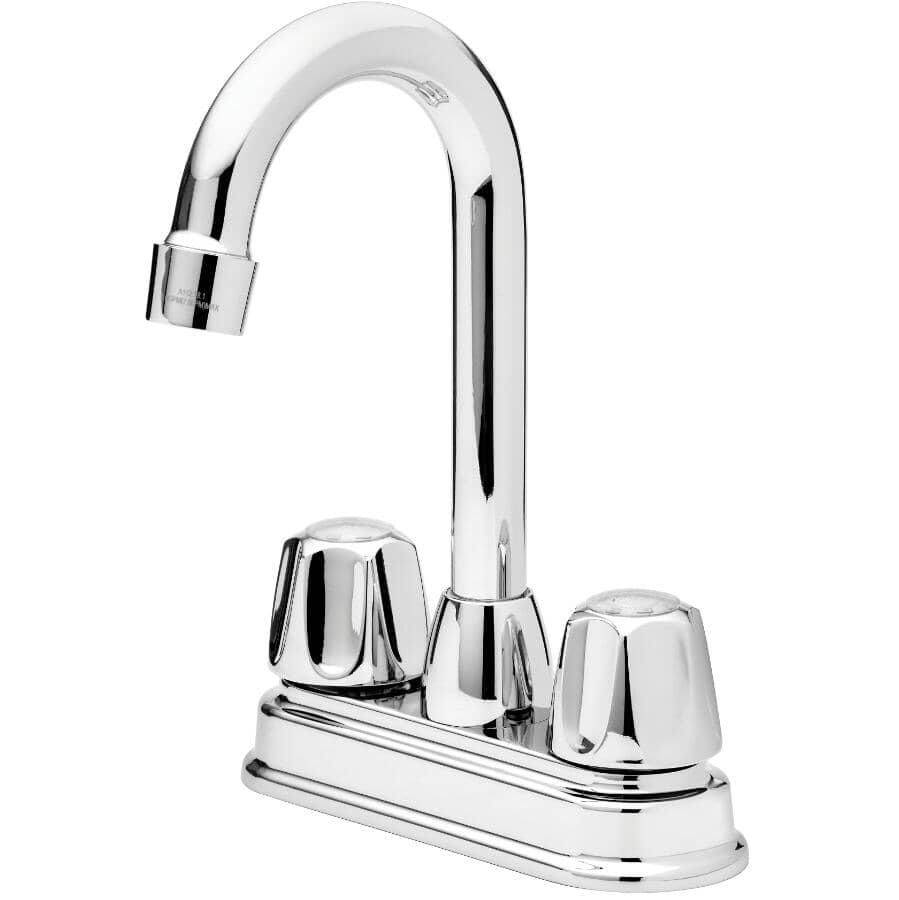 CLASSIC:Chrome Bar Sink Faucet